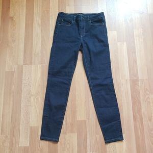 Ann Taylor skinny modern fit darkwash denim jean